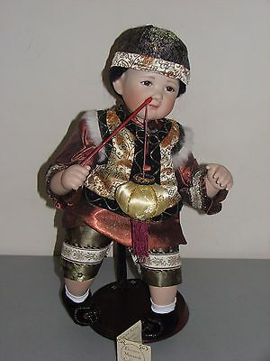 "Florence Makanuk Collection Limited Edition ""Ang"" Chinese Porcelain Doll"