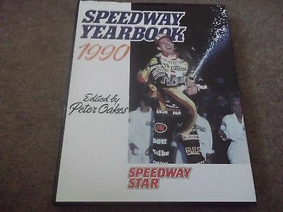 Speedway Star 1990 Speedway Yearbook Edited By Peter Oakes Hardbacked