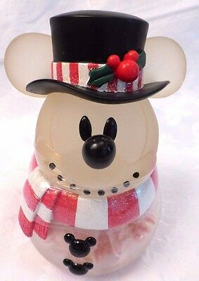 Disney Mickey Mouse Christmas Candy Jar