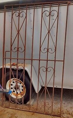 Double iron metal Entry Gates – Heavy – Good Condition – vintage / antique pair