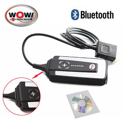 Diagnosi auto OBD2 snooper wow 5.008R2 BLUETOOTH installazione remota multimarca