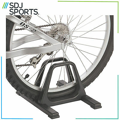 Gear Up Grandstand Single Bike Floor Stand Rack For Indoor Or Outdoor Use