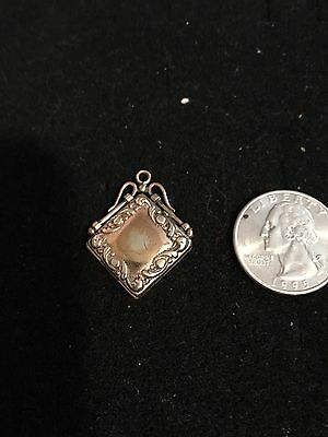 Victorian Gold Filled Photo Locket Necklace Pendant Vintage Antique