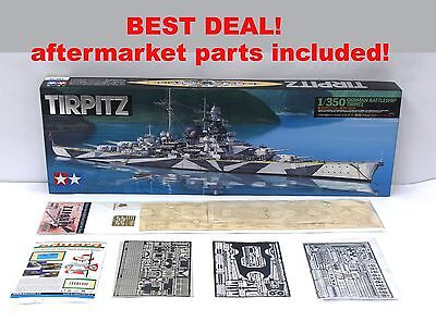 Tamiya Tirpitz 1/350 with Deck and Photoetch
