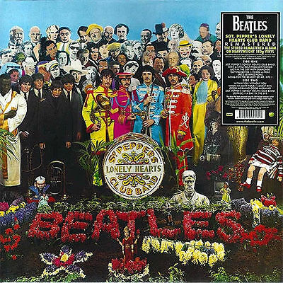 """THE BEATLES ~ """"SGT. PEPPERS.."""" ~ 180gsm REMASTERED VINYL LP ~ *NEW AND SEALED*"""