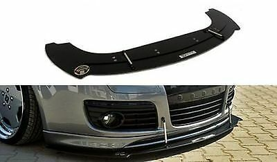 Racing Cup Spoilerlippe Front Diffusor Spoiler VW Golf V 5 GTI 30TH ED30 R32