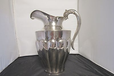 Sterling Water Pitcher 9 inch