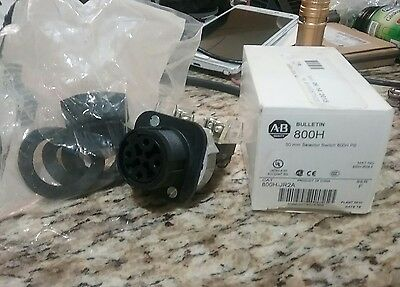 Allen-Bradley 800H-JR2A 3 Position Selector Switch NEW FREE SHIP