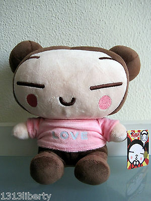 pucca love doll brown VOOZ JAPANISE ANIME rare 10'' plush stuffed toy puka cool