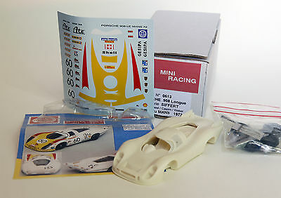 1:43 Porsche 908 LH n°60 24h Le Mans 1972 - Kit Mini Racing 0613