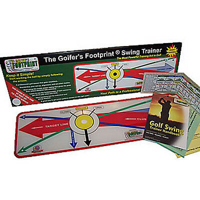 The Golfer's Footprint Swing Trainer, Right-Handed, New