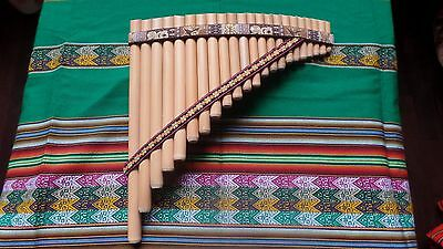 Professional Panflute 22 Pipes Right Handed From Peru  Video