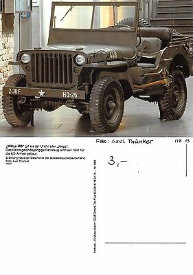 USA - WWII Willys MB Urahn Jeep (A-L 605)