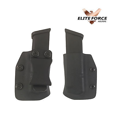Springfield Armory XDS 9MM/40 Caliber IWB Kydex, Magazine Pouch by Elite Force