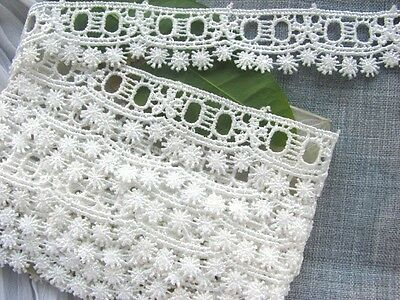 SALE~ 14yds~ Victorian Venise Lace Beading Trim~#59 Baby ~Doll~ Pillow