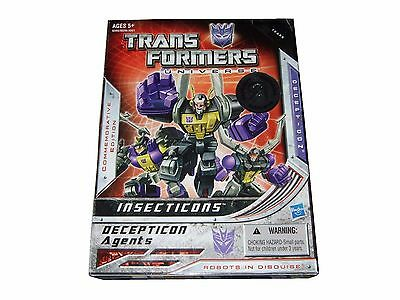 Transformers Insecticons Toys R Us Edition New, Hasbro Nuevo Box Damaged