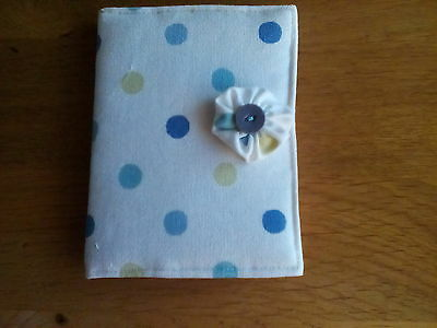 Pin Cushion & Needle Case Set - Cream with dots,  Gift Idea