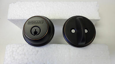 """Schlage B60 -716 deadbolt for thick doors from 2"""" to 2 1/4"""" thick -Complete lock"""