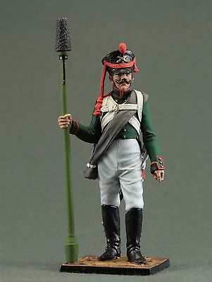 Toy tin soldiers 54 mm.Napoleonic War soldiers.Artillery.cannoneer. Russia,1812