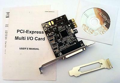Carte PCI Express extension 1 port parallèle (type imprimante)