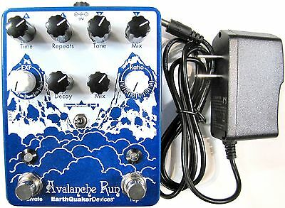 Used Earthquaker Devices Avalanche Run Delay Reverb Guitar Effects Pedal!