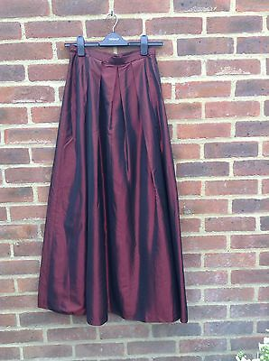 Vintage 80s Taffeta Net Maxi Skirt Prom 50s Perfect For Events On Trend XS S