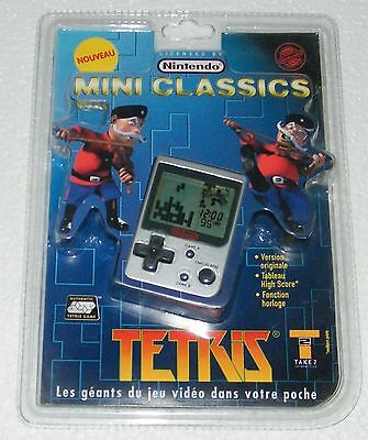 NINTENDO G&W MINI CLASSICS - TETRIS - 1998 1st EDITION - Electronic Game