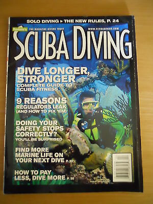 Scuba Diving Magazine USA Rodales April 2000 |Safety Stops Leaking Regs Fitness