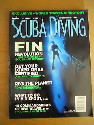 Scuba Diving Magazine USA Rodales May 2000 Fins, Dive planet, Silt out Travel