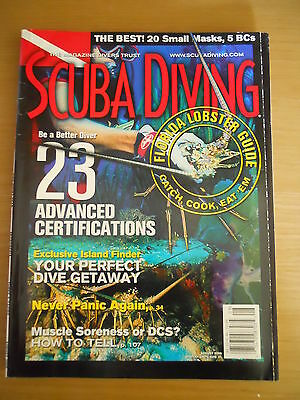 Scuba Diving Magazine USA Rodales August 2000 Panic  DCS Lobster Guide Advanced