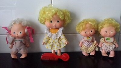 STRAWBERRY SHORTCAKE Cherry Merry Muffin Cupcake Doll Bambola Vintage Anni 70 80