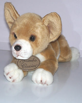 "Yomiko Classics Russ Chihuahua 14"" Plush Lifelike Stuffed Animal Puppy Dog"