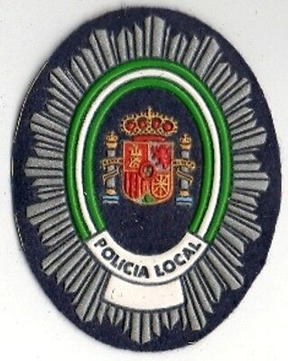parche POLICIA LOCAL ANDALUCIA  spain police patch