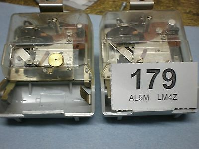 "2 x ELECTRONIC ATO Movements"" parts spares mantle wall bracket escapement"