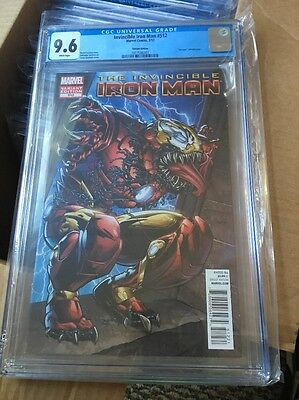 The Invincible Iron Man 512 Variant 9.6