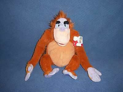 Jungle Book Louie NEW Stuffed Plush Doll Toy Disney Movie Monkey Ape Animal