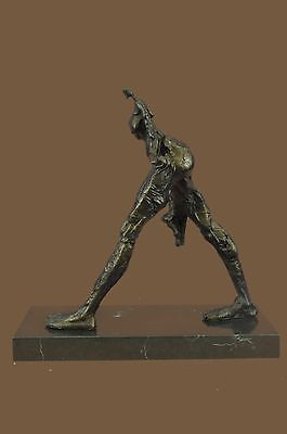 Bronze Sculpture Classic LTD Edition Girl Woman Female Marble Base Figurine
