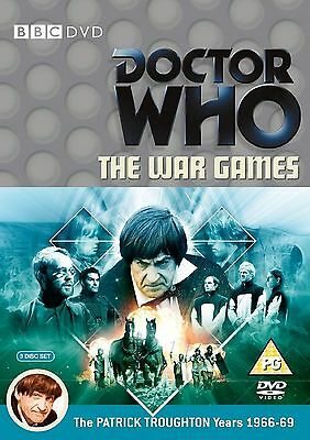 Doctor Who The War Games DVD Patrick Troughton Original UK Release New Sealed R2