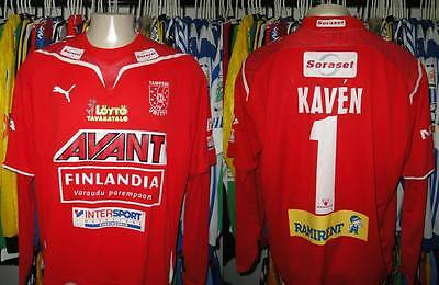 Tampere United Finland match worn nº 1 Kaven extremely rare shirt