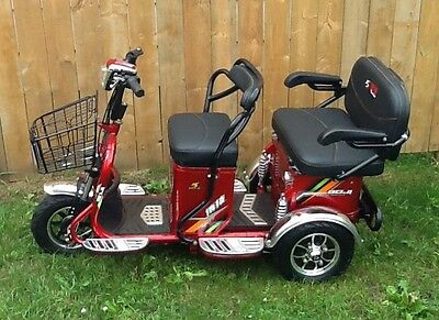 3 Wheel 2 person Electric SENIORS HOT ROD (The toy you got old to play with)