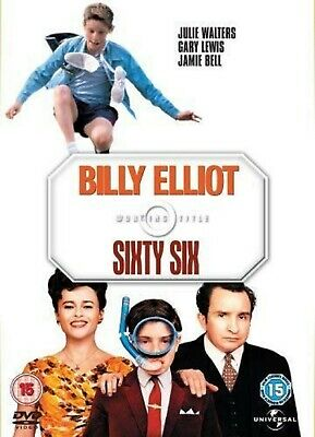 Billy Elliot Sixty Six DVD Julie Walters Gary Lewis Stephen UK Rel New Sealed R2