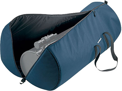 """Orion Padded Telescope Case 47x13.5x18.5"""" Protect Carry Scope Handle Straps Blue"""