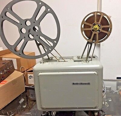 B&H 614 16mm Telecine Transfer Projector Optical & Magnetic Sound  Warranty!