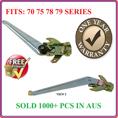 Toyota Landcruiser Ute RH Manual Window Winder Regulator 75 78 79 Series  NEW