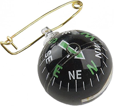 Allen Company Liquid Filled Pin-On-Ball Compass