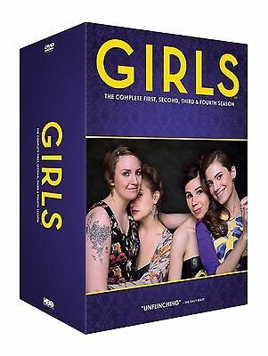 Girls Complete Collection 1-4 DVD Box Set All Seasons 1 2 3 4 Original UK R2 New
