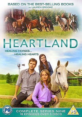 HEARTLAND COMPLETE SERIES 9 DVD  Ninth 9th Season Nine UK  Release Brand New R2