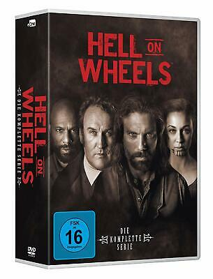 Hell on Wheels Complete Collection 1-5 DVD All Seasons Original UK Release NEW