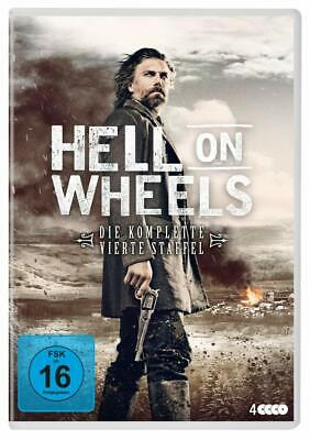 Hell on Wheels Complete Series 4 DVD All Episodes Fourth Season UK Release NEW