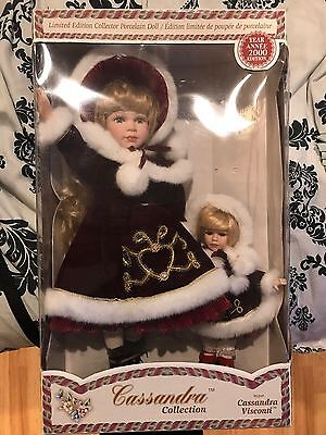 Cassandra Collection Year 2000 Limited Edition Porcelain Doll